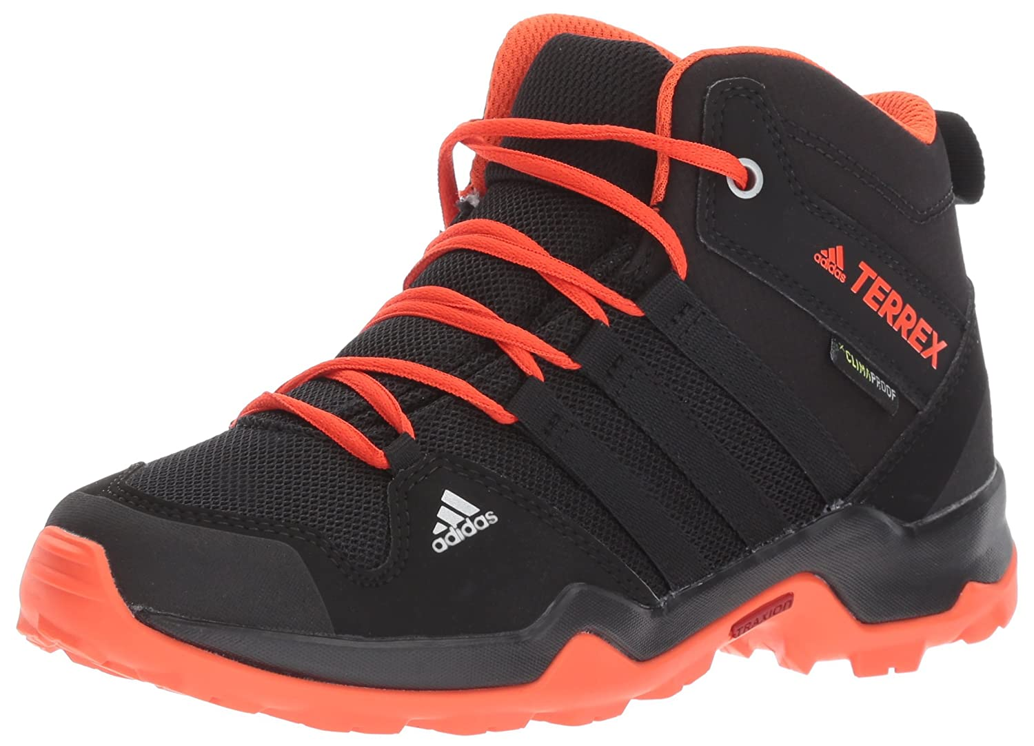 Adidas outdoor Unisex-Kids Terrex AX2R K Mid CP K AX2R Hiking Schuhe, Core schwarz Core schwarz Energy, 10.5 Child US Little Kid 50ffa6