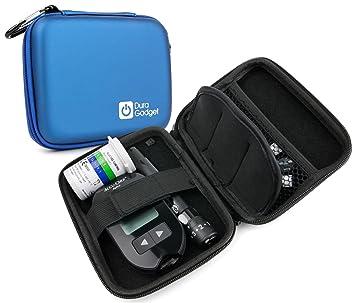 Estuche rígido y compacto para diabéticos, para transporte ...