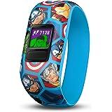 Garmin 22 vofit jr 2, Kids Fitness/Activity Tracker, MARVEL, 1-year Battery Life, Avengers