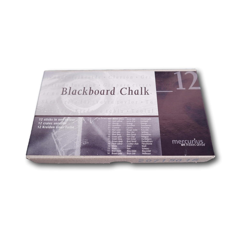 White 12 pcs Mercurius Blackboard Chalk