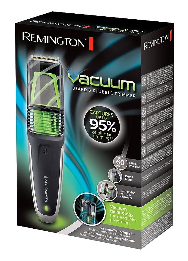 Remington MB6850 Vacuum- Máquina de afeitar inalámbrica, peine ajustable (2-18 mm), tecnología de aspiración, 60 minutos de autonomía: Amazon.es: Salud y ...