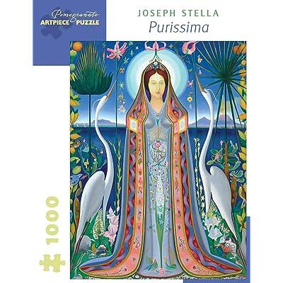 "Joseph Stella: Purissima 1000-Piece Jigsaw Puzzle (Pomegranate) 20"" x 27"": Toys & Games"