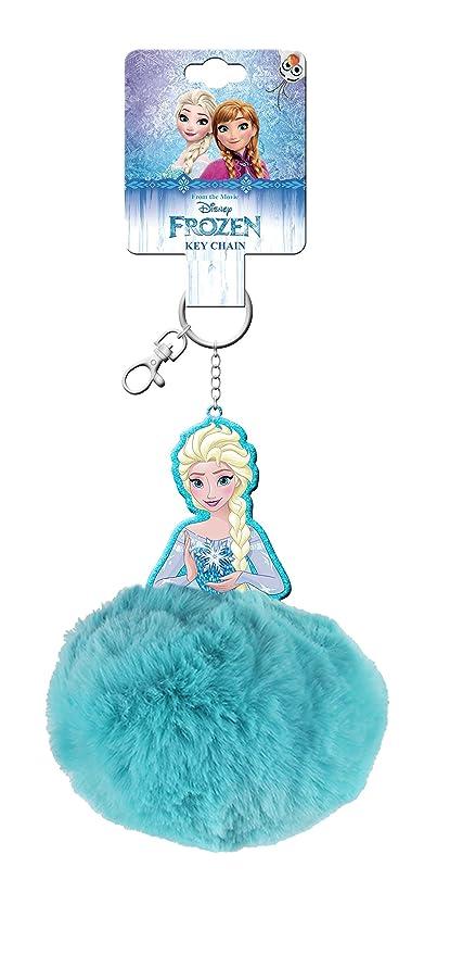 Frozen Llavero con pompón peluche Kids WD19405: Amazon.es ...
