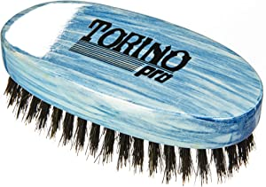 Torino Pro Medium Wave Brushes By Brush King #32- Oval Palm brush - For 360 waves