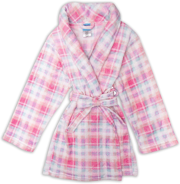 Sleep On It Girls Fleece Robe Kids Robes for Girls
