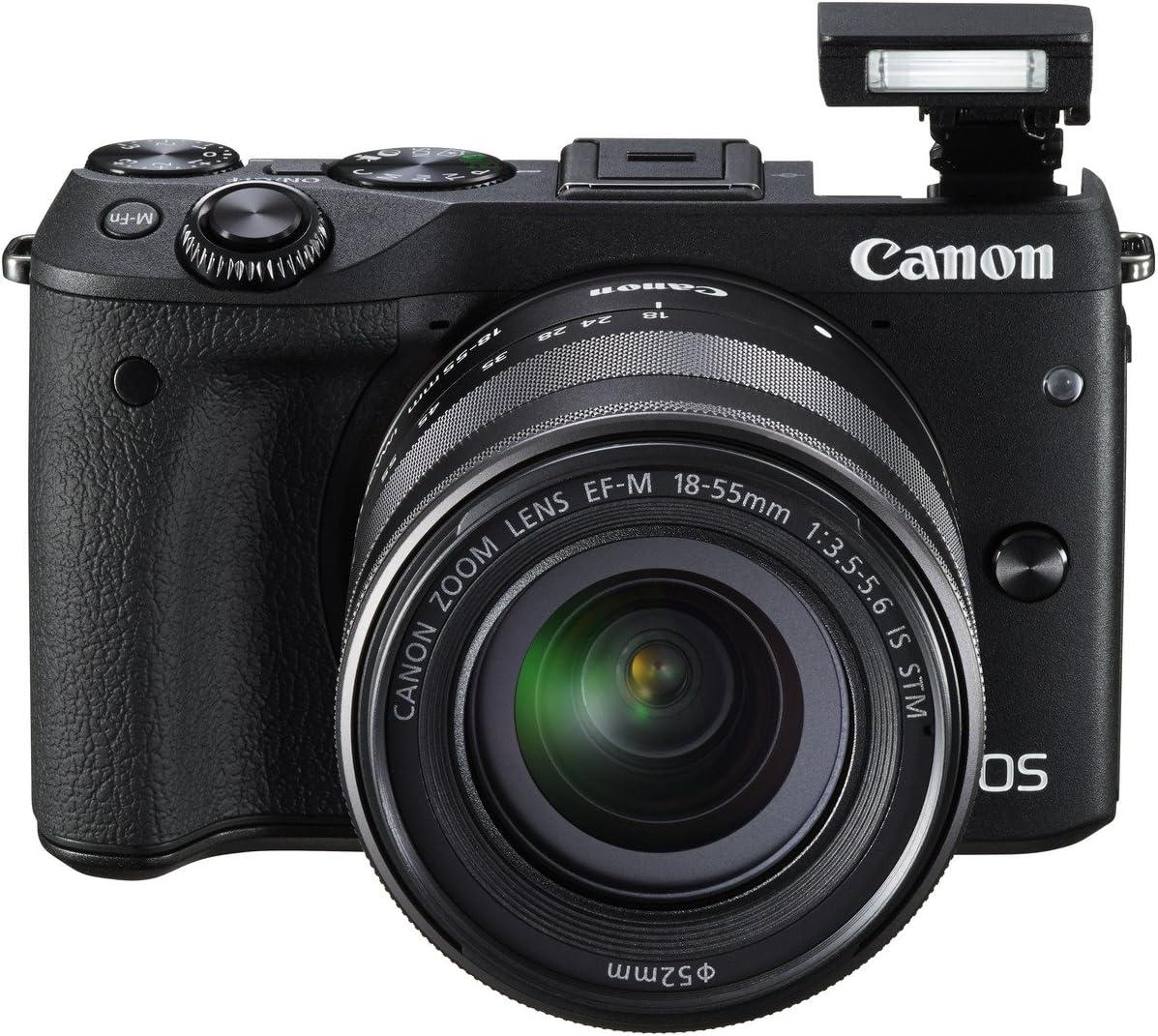 Canon EOS M3 - Cámara réflex Digital de 24.7 MP (Pantalla táctil 3 ...
