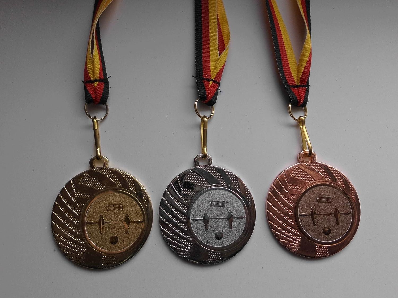 Karate Pokal Kids 20 x Medaillen mit Deutschland-Band Turnier Emblem Kampfsport Pokale & Preise