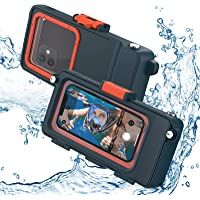 HJKB Waterproof Phone Case for iPhone Samsung Galaxy All Series Deals