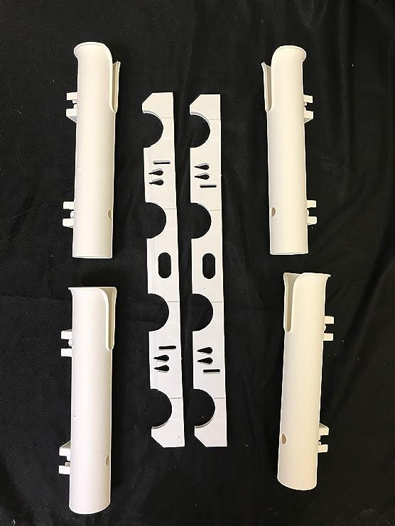 Kufa Sports Heavy Duty 2 Pole Tube ASSEMABLE Rack Fishing Rod Holder RH11 for sale online