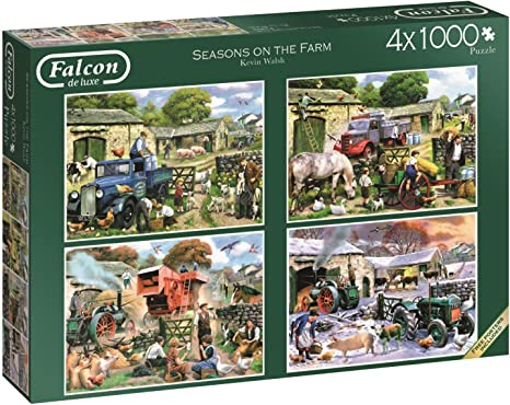 Falcon de luxe 11249 Puzzle 4 x 1000 Teile