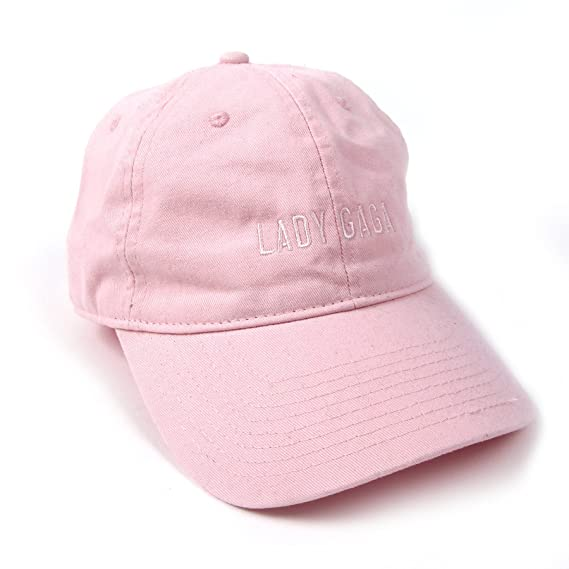 eb49586b Lady Gaga Dad Hat - Pink: Amazon.co.uk: Clothing