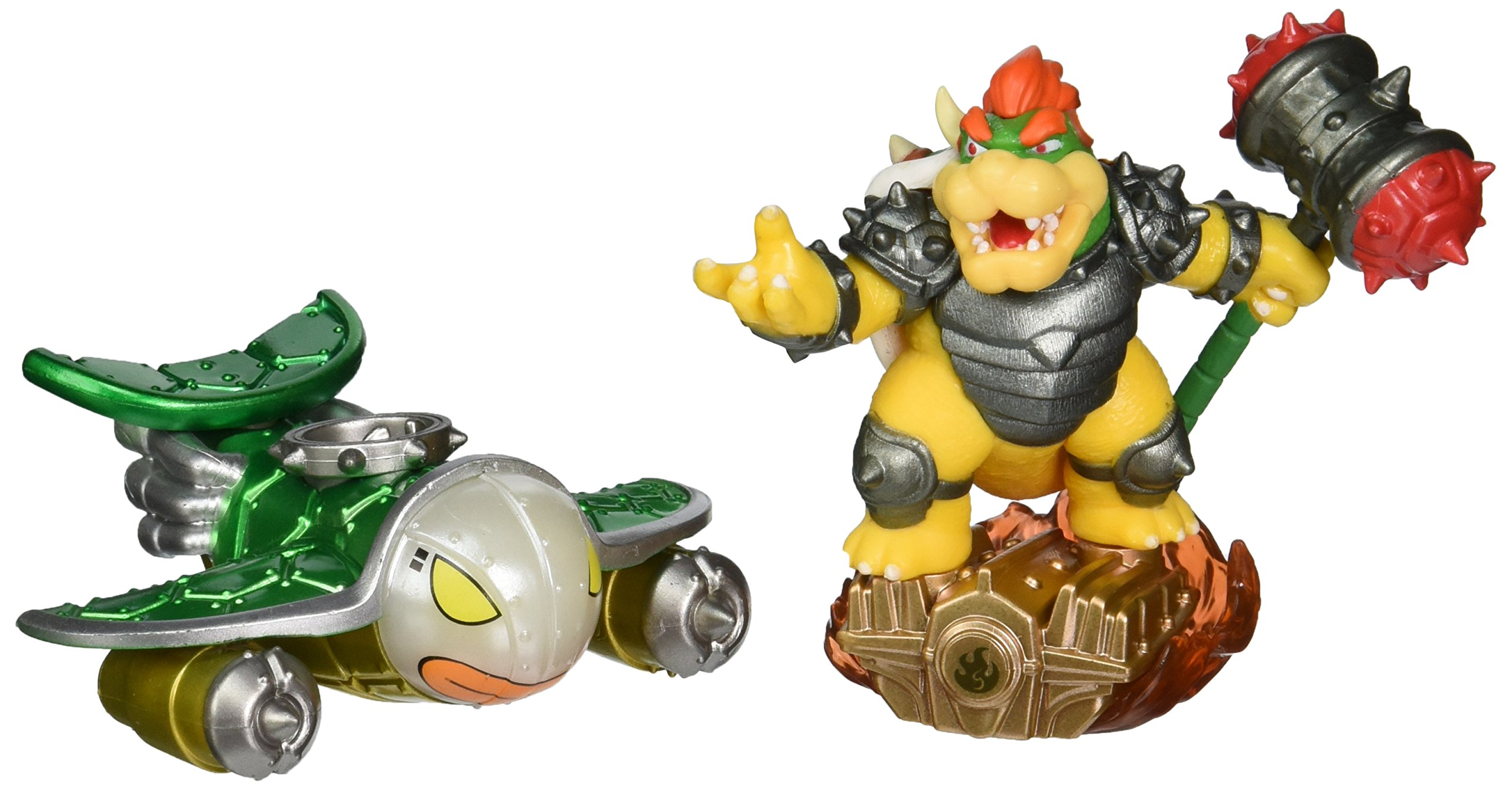 Skylanders Superchargers Supercharged Combo Pack: Bowser and Clown Cruiser - Nintendo