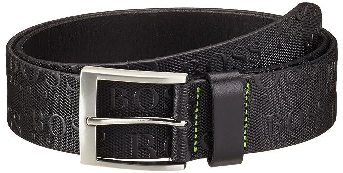 6766039e027 BOSS Green Torialo - Ceinture - Uni - Homme - Noir (Black 001) - XX ...