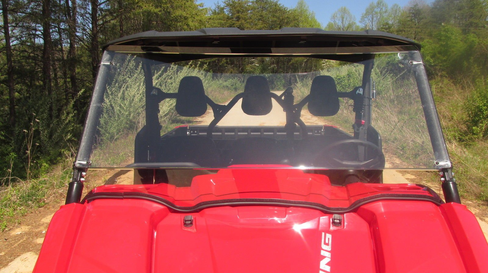 Yamaha Viking 700 Full Front Clear Windshield..A Full 1/4'' THICK!!!