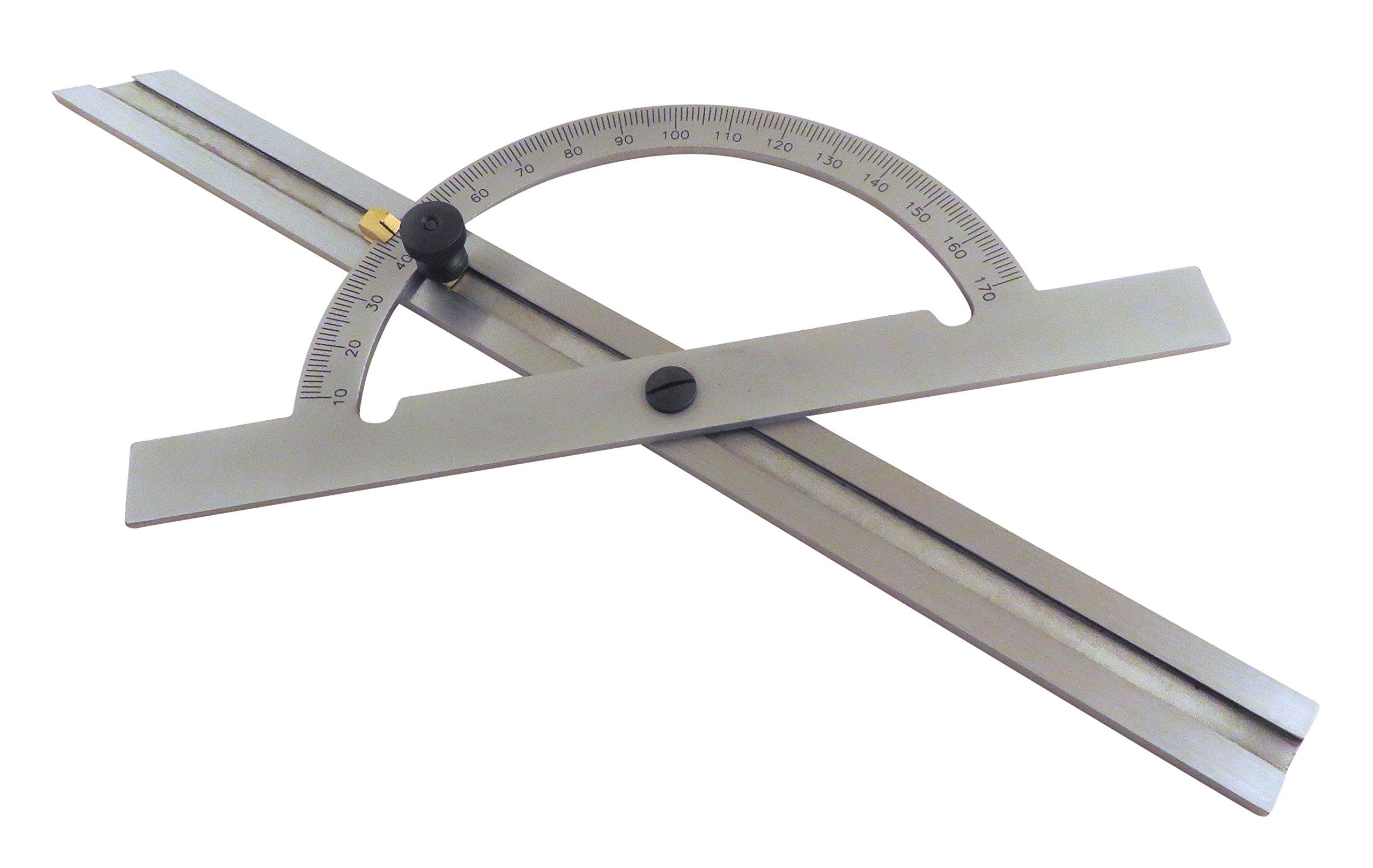 Taytools 12'' Hardened Steel Protractor Angle Finder Sliding Bevel Gauge TTWHDP
