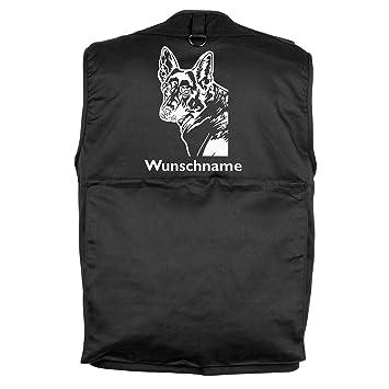 Weste Gassigeher Bimaxx/® Hundesportweste Die mit dem Hund geht Trainingsweste