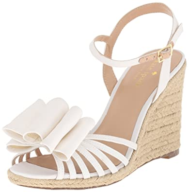 Kate Spade New York Leather Espadrille Wedges for cheap for sale YtIxlv
