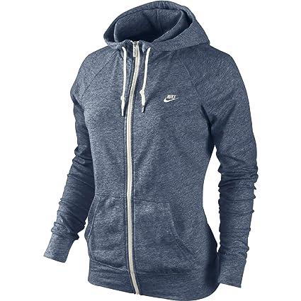 hot sale online where to buy various design Nike Veste Sweatshirt AW77 Time Out pour Femme Bleu Saumon ...