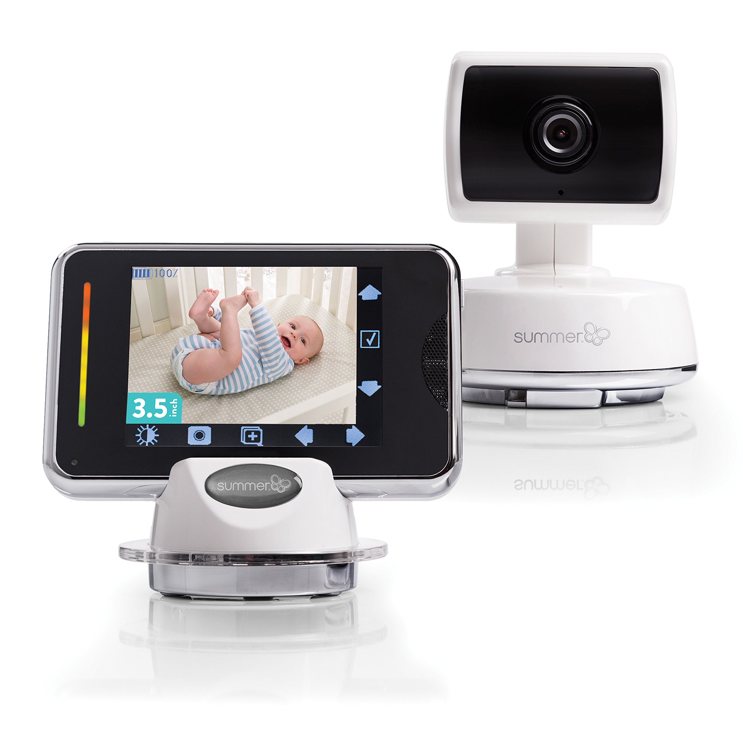 Summer Infant Baby Touch Pan/Scan/Zoom Video Baby Monitor, 3.5''