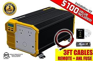 Krieger 4,000-watt 12-volt Power Inverter