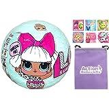 LOL Surprise Doll Bundle includes (1) L.O.L. Series 1 Diva + (6) Shopkins Stickers + BONUS Action Media Storage Bag!