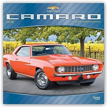 Calendario 2018 coches Camaro - Coche de colección - Coche ...