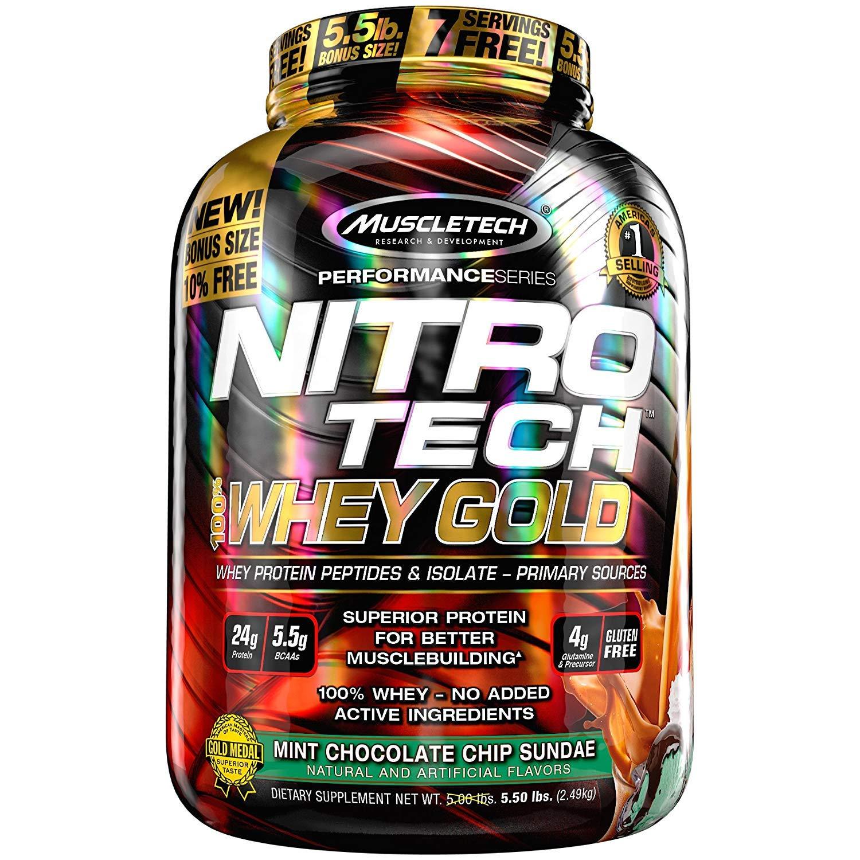 Muscletech Performance Series Nitrotech Whey Gold