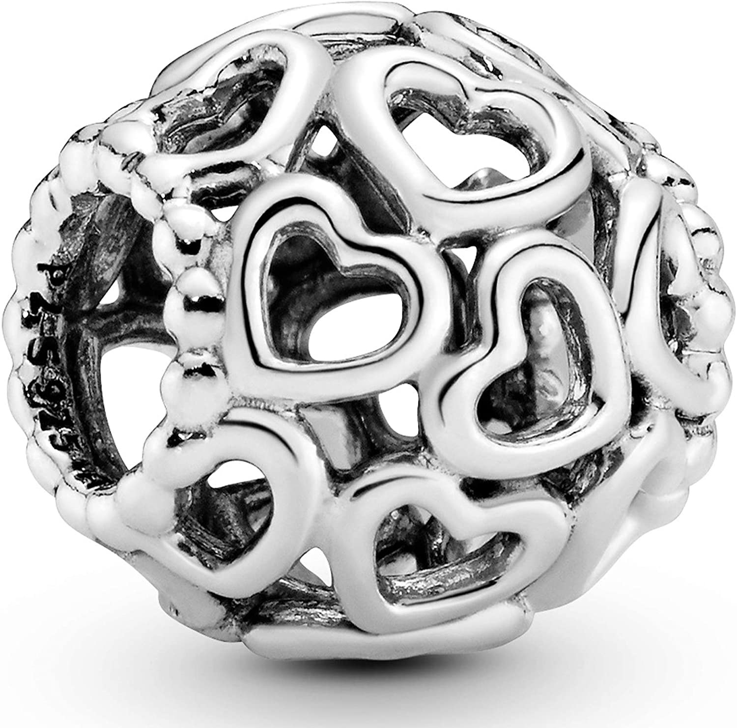 Pandora Jewelry Open Your Heart Sterling Silver Charm