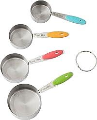 ROSANNA PANSINO by Wilton Measuring Cups, 4-Piece Measuring Cup Set