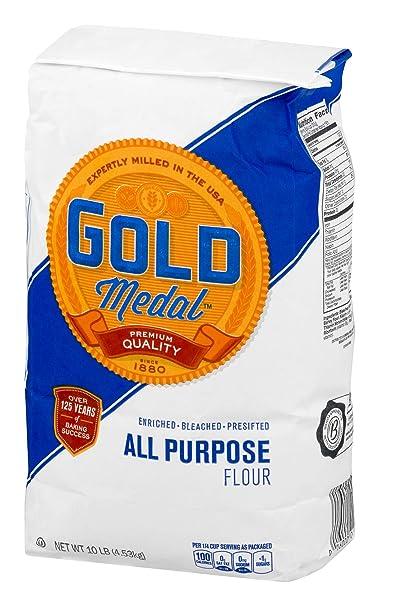 Medalla de Oro All Purpose Harina – 10 Lb: Amazon.com ...