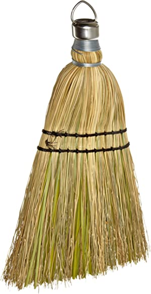 Rubbermaid Commercial 12 Inch Corn Whisk Broom, Yellow (FG9B5500YEL)