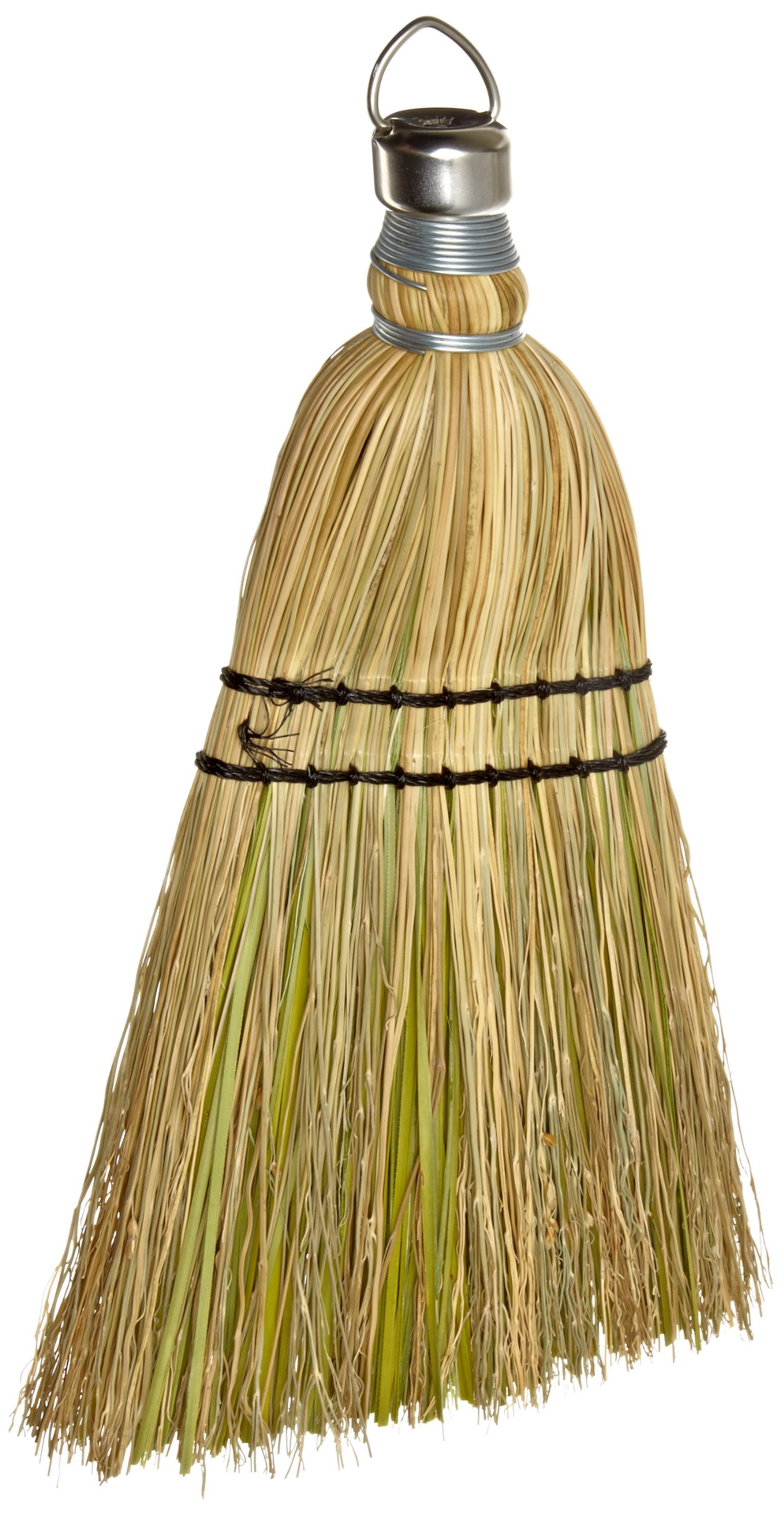 Rubbermaid Commercial Corn Fiber Whisk Brush, 12-Inch, Yellow, FG9B5500YEL
