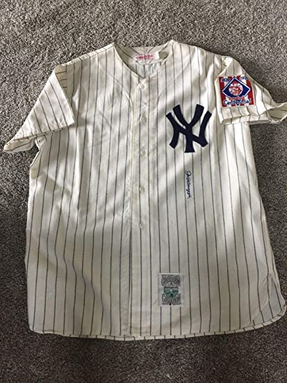 396b0082198 Image Unavailable. Image not available for. Color  Joe Dimaggio Autographed  Signed New York Yankees Jersey ...