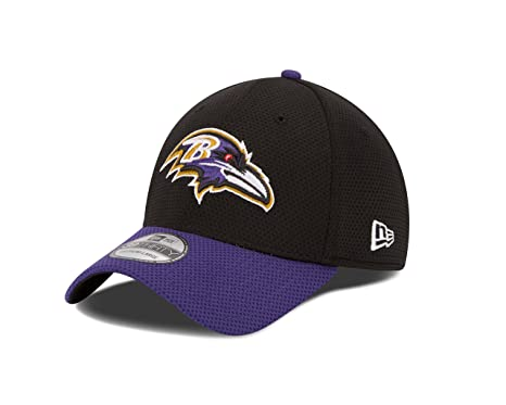 NFL Baltimore Ravens 2015 Team Color Training Camp 39Thirty Stretch Fit Cap 67fe853c50d7