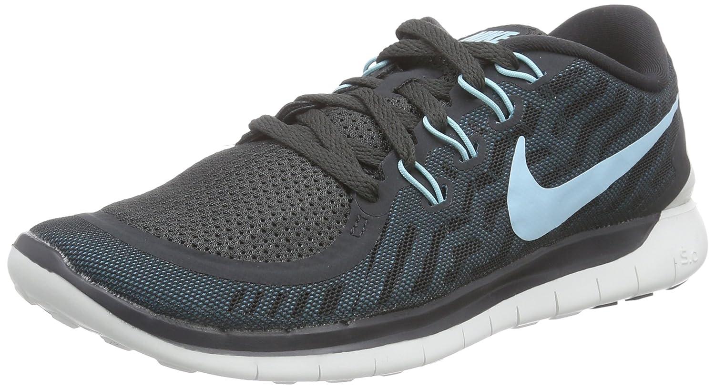 Nike Women's Free Running Shoe B00V43A07K 6.5 B(M) US Anthracite/Black/Blue Lagoon