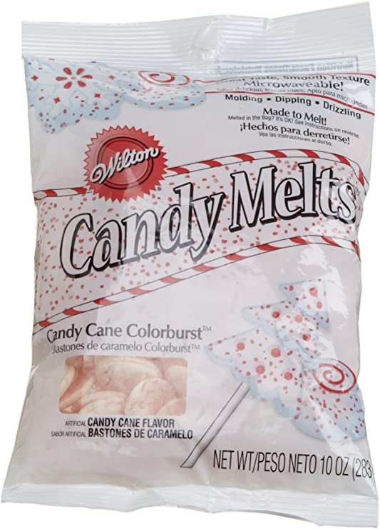 Wilton Candy Cane Colorburst Melts