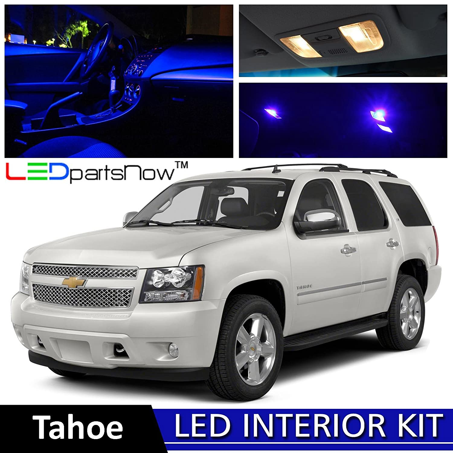 amazon com ledpartsnow 2007 2014 chevy tahoe and suburban led