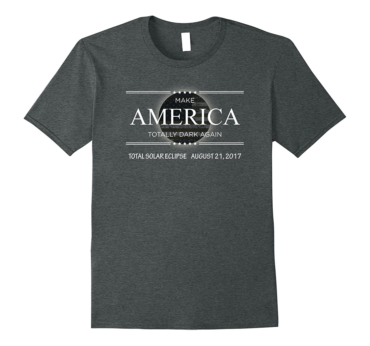 "Eclipse Shirt By Flirtee ""Make America Dark Again""-Teehay"