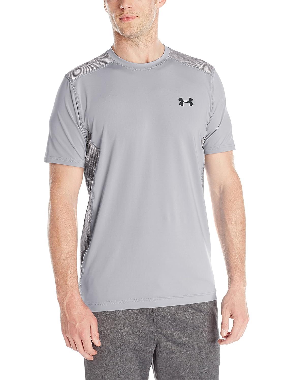 (アンダーアーマー) UNDER ARMOUR ヒットヒートギアSS(トレーニング/Tシャツ/MEN)[1257466] B016APQHPA X-Small|Overcast Gray/Overcast Gray Overcast Gray/Overcast Gray X-Small