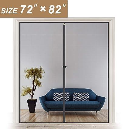 Amazon.com: Pantalla de malla para puerta con imanes 72 ...
