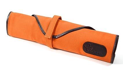 7c0131936fe4 Amazon.com: Boldric 6 Pocket Canvas Knife Bag, Heavy-Duty Portable ...