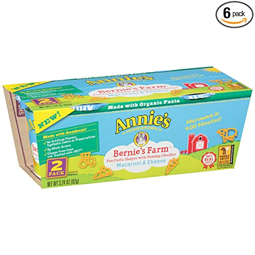 Annie's Two Pack Bernie's Farm, 2 Count (Pack of 6)