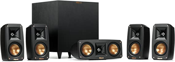 Klipsch Black Reference Theater Pack 5.1 Surround Sound System