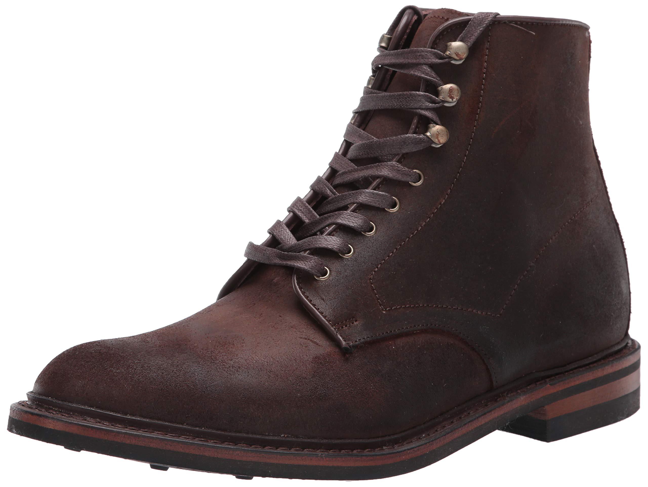 Allen Edmonds Men's Higgins Mill Backpacking Boot, Brown Rough Suede, 10 D US by Allen Edmonds