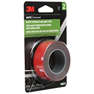 "3M 3615 Red 03615 Scotch-Mount 7/8"" x 5' Molding Tape"