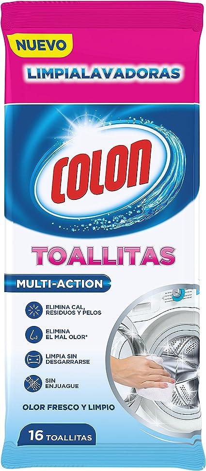 Colon Toallitas Limpialavadoras - 16 Unidades