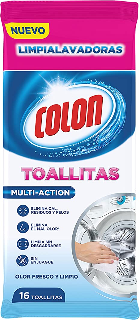 Colon Toallitas Limpialavadoras - 16 Unidades: Amazon.es: Amazon ...