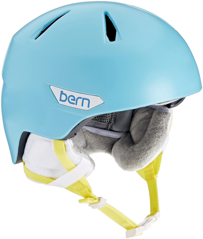 Bern 2016 / 17キッズ/ガールズBristow Jr冬雪ヘルメット B01DZNLFIO X-Small/Small|Satin Cyan Blue Satin Cyan Blue X-Small/Small