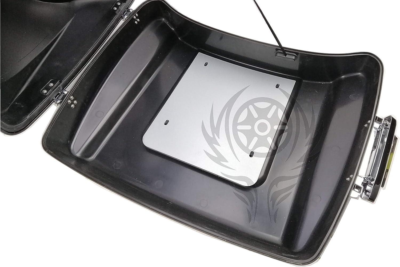 Trunk Pack Metal Base Reinforcement Plate Fit for Harley Razor Tour Pak Street Glide Road King 14-up 18 19 20 21