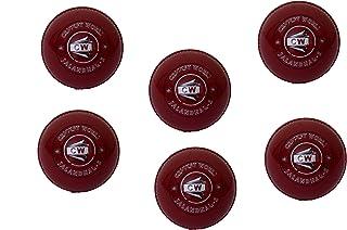 CW synthétique de balle de cricket en EVA (lot de 6)